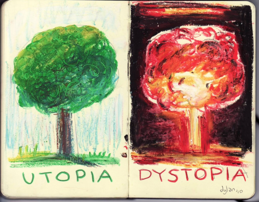 I found this lovely drawing, here ; http://thisisonline.org/index.php/reviews/bookreviews/138-utopia-and-distopia#